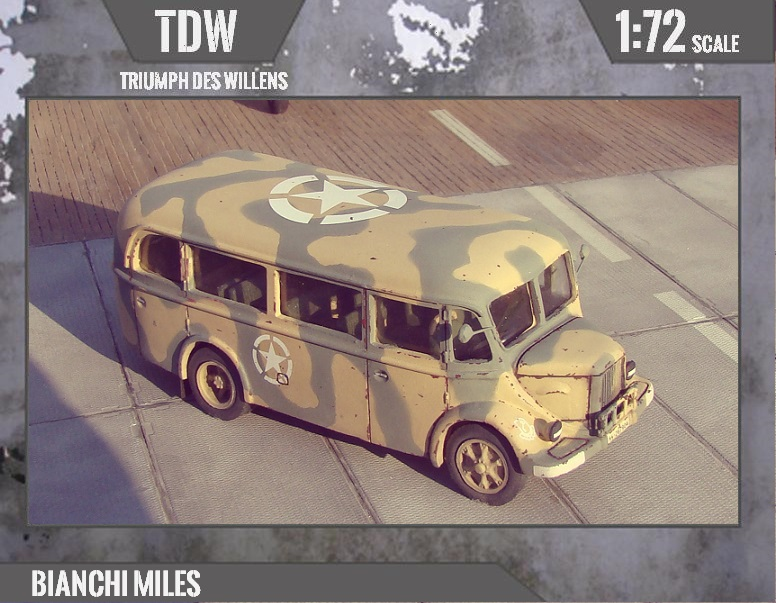 1//72 Fiat 626 RNL Omnibus RESIN TDW